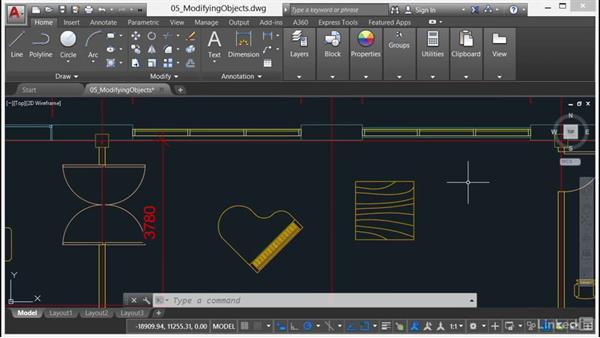 Using Scale and Rotate: AutoCAD 2017 Essential Training