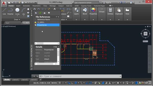 Working with XREFs: AutoCAD 2017 Essential Training