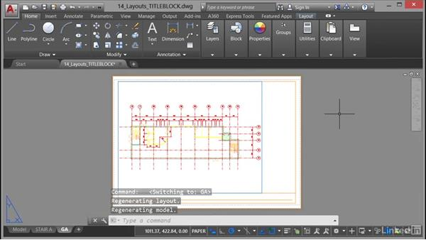 Using annotative text styles: AutoCAD 2017 Essential Training