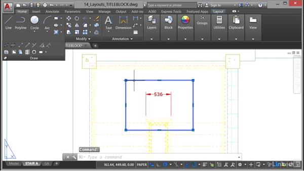 Using revision clouds: AutoCAD 2017 Essential Training