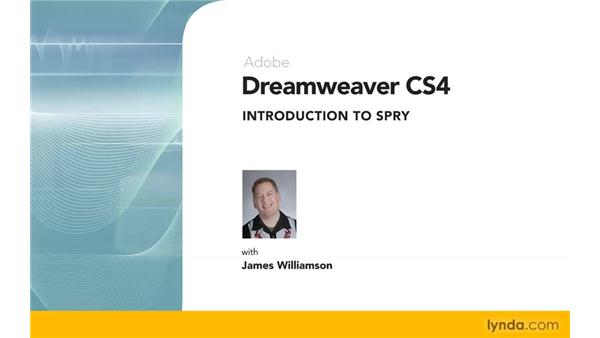 Goodbye: Dreamweaver CS4: Introduction to Spry