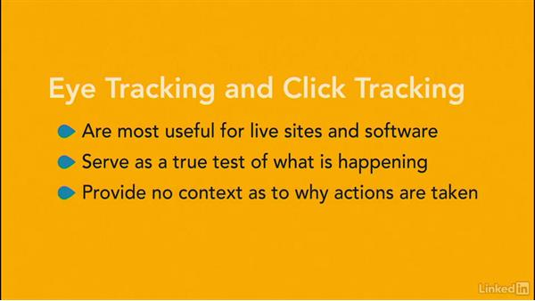 Eye tracking and click testing: UX Research Fundamentals