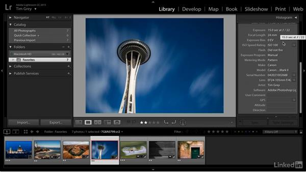Understanding the standard metadata: Learn Photo Management: Metadata