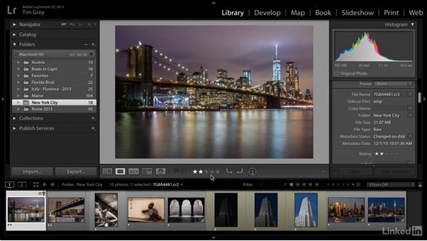 Resolving and avoiding metadata conflicts: Learn Photo Management: Metadata