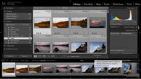 Locating your images with a simple metadata search: Learn Photo Management: Metadata