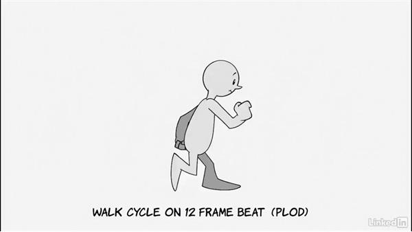 Varying the passing pose for flexibility: 2D Animation: Character & Attitude Walk Cycles