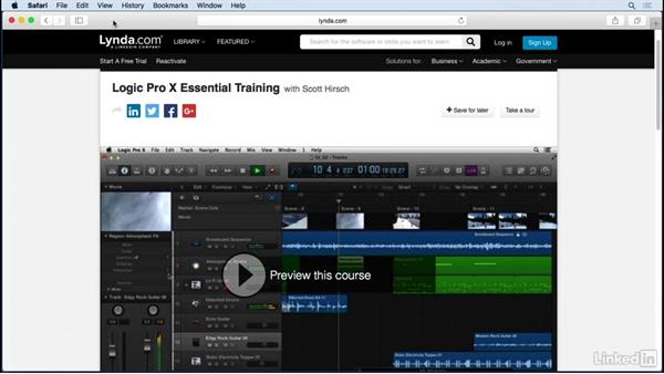 What you should know before watching this course: Producing Electronic Music in Logic Pro