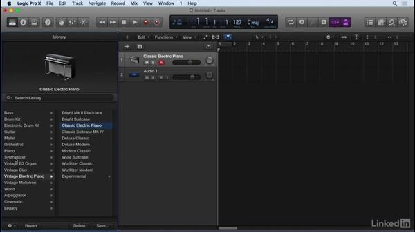 Enabling capture recording and hidden features in Logic Pro X: Producing Electronic Music in Logic Pro
