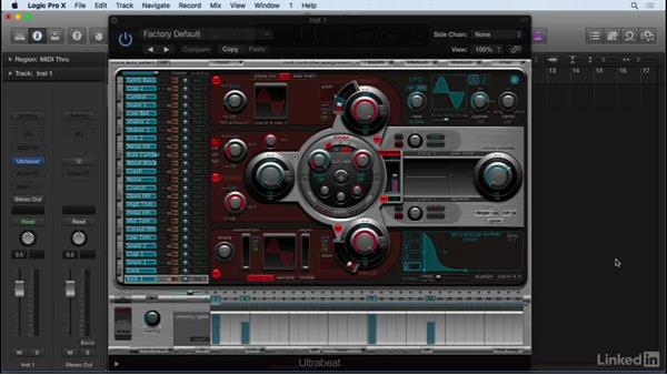 Drum programming in Ultrabeat: Producing Electronic Music in Logic Pro