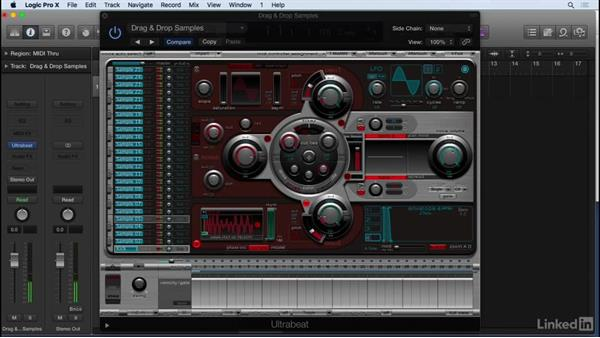 Importing and working with audio samples: Producing Electronic Music in Logic Pro