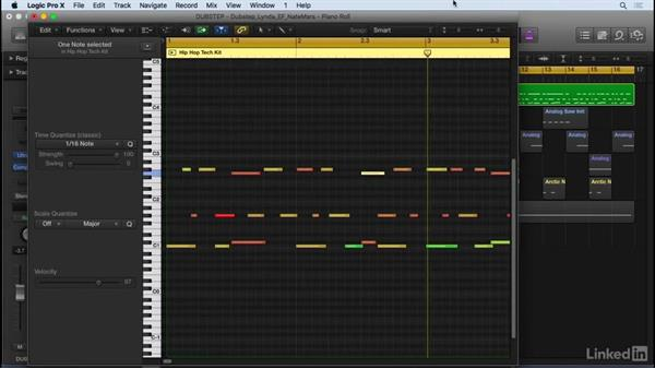 Drum pattern fundamentals: Producing Electronic Music in Logic Pro