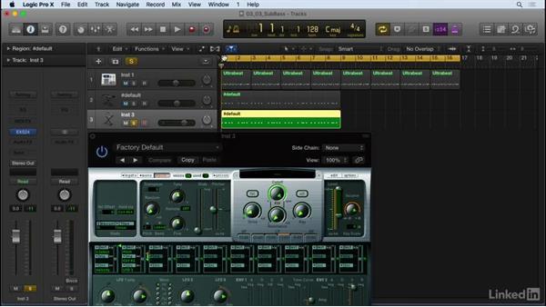 Sub-bass secrets: Producing Electronic Music in Logic Pro