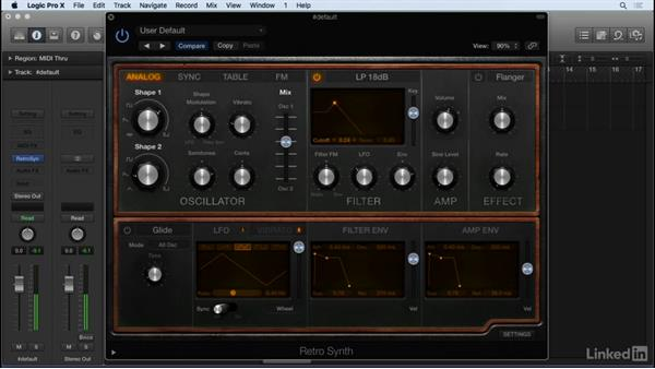Sound design and synthesis concepts with Retro: Producing Electronic Music in Logic Pro