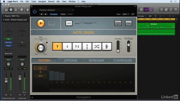 Creative MIDI and automation effects: Producing Electronic Music in Logic Pro