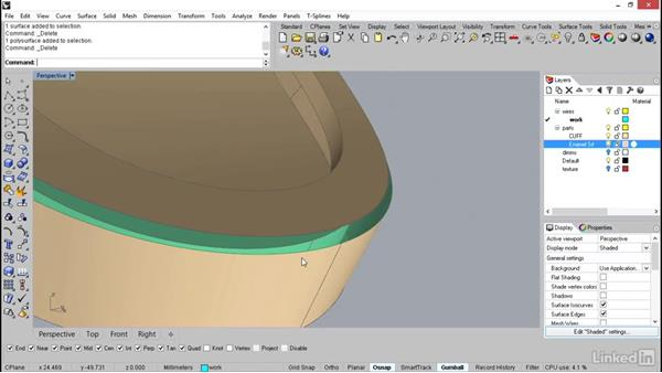Softening the edges for comfort: Rhino: Learn Basic Jewelry Modeling
