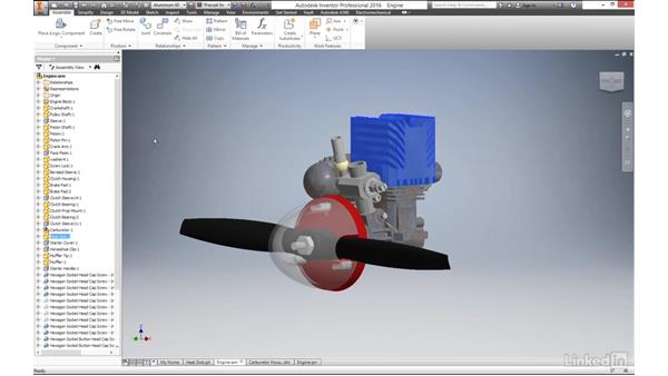 Reviewing different file types: Autodesk Inventor 2017 Essential Training