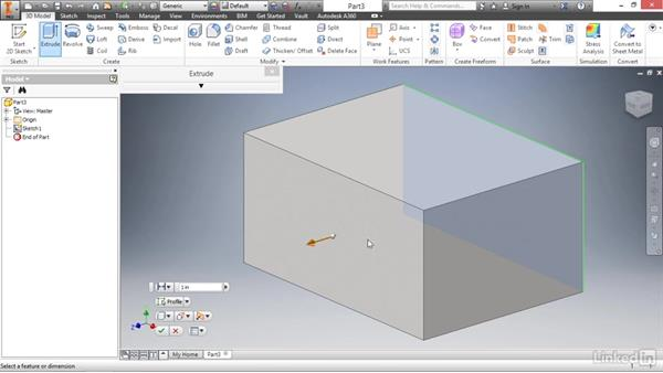 Construction geometry: Autodesk Inventor 2017 Essential Training
