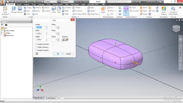 Creating a base form: Autodesk Inventor 2017 Essential Training