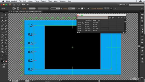 Understanding the Chart tools in Adobe Illustrator: After Effects Guru: Animating Infographics