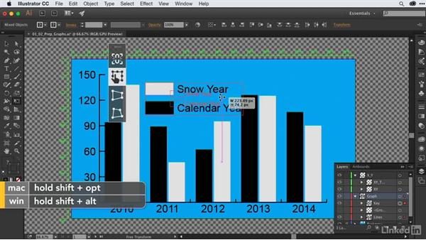 Preparing charts & graphs from Illustrator for animation: After Effects Guru: Animating Infographics