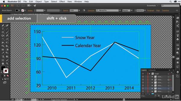 Importing & converting Illustrator charts to shape layers for animation: After Effects Guru: Animating Infographics