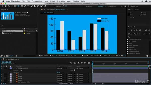 Animating bar graphs: After Effects Guru: Animating Infographics