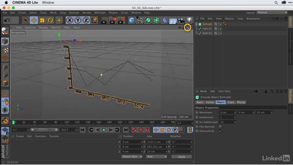 Modeling 3D line graphs: After Effects Guru: Animating Infographics