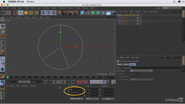 Creating & texturing 3D pie charts from Illustrator files: After Effects Guru: Animating Infographics