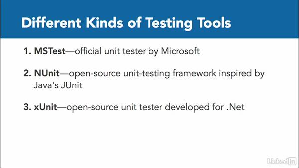 Welcome: C# Test Driven Development