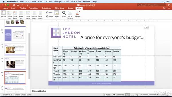 Arrange with guides and snapping: PowerPoint for Mac 2016 Power Shortcuts