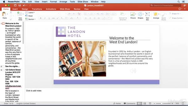 Change views with the keyboard: PowerPoint for Mac 2016 Power Shortcuts