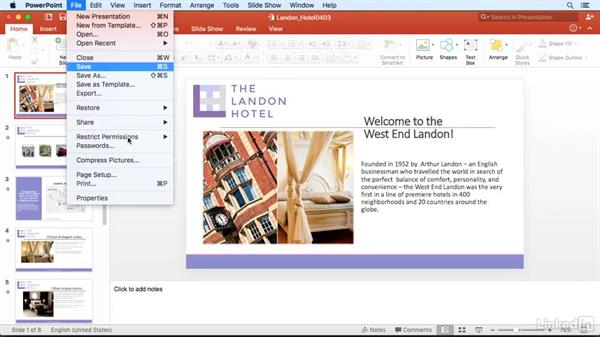 Use the keyboard to access menus: PowerPoint for Mac 2016 Power Shortcuts