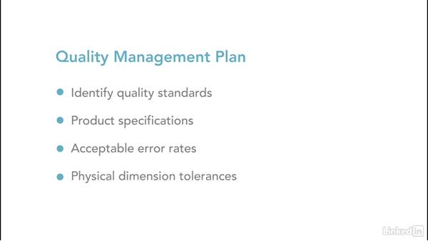 Learn to manage quality: Project Management Fundamentals