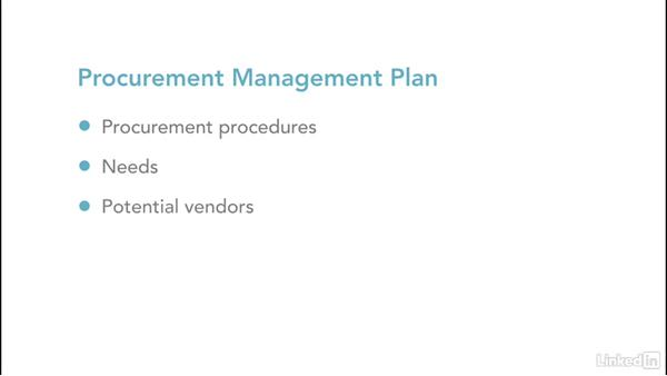 Procure products and services: Project Management Fundamentals
