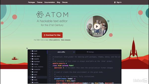 What you should know: Learn Atom: The Basics