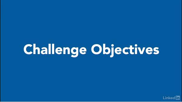 Using the challenges: Excel 2013: Prepare for the Microsoft Office Specialist Certification Exam (77-420)