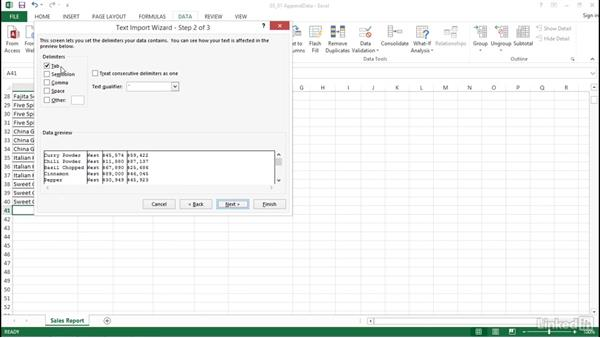 Use Append to insert data into cells: Excel 2013: Prepare for the Microsoft Office Specialist Certification Exam (77-420)