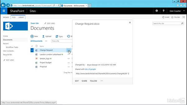 Use durable links: SharePoint 2016 and SharePoint Online New Features