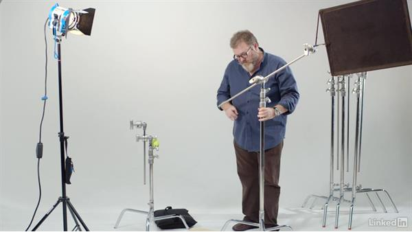 Basics of the C-stand: Video Lighting and Grip Basics