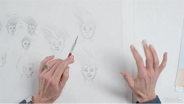 Facial expressions: Character Development and Design
