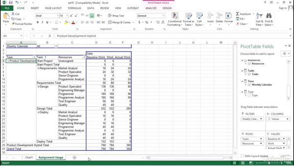 Need to know: Visualizing a Report in Microsoft Project