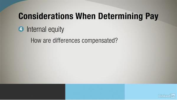 Compensation and benefits: Administrative Human Resources