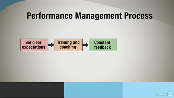 Overview of the performance process: Administrative Human Resources