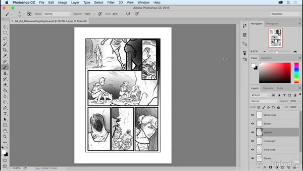 About this course: Comic Book Digital Inking and Refinement