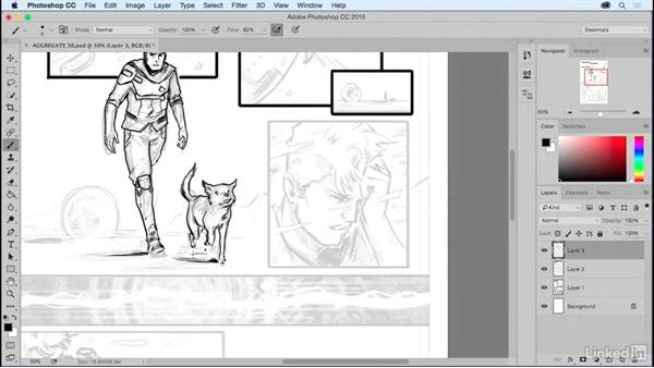 What is digital inking?: Comic Book Digital Inking and Refinement