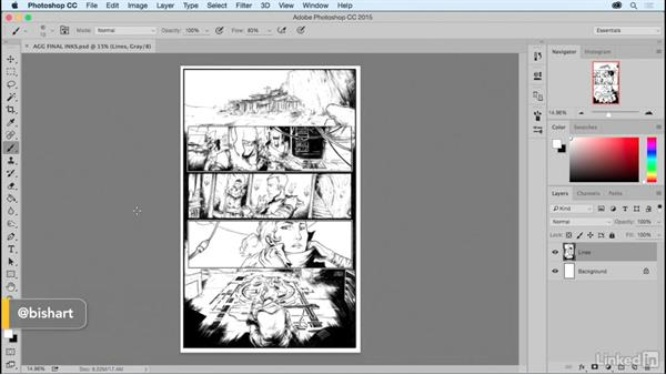 Next steps: Comic Book Digital Inking and Refinement