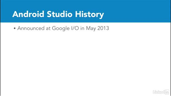 Android Studio and IntelliJ IDEA: Android Studio Essential Training