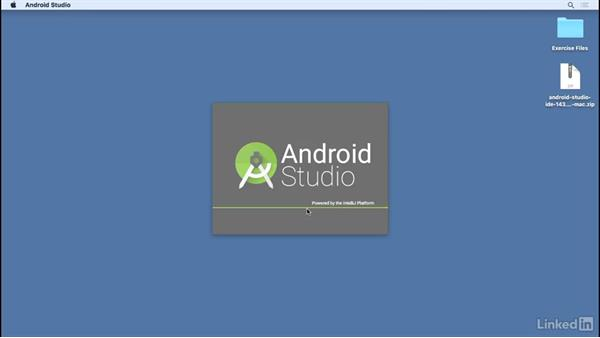Install Android Studio on Mac OS X: Android Studio Essential Training