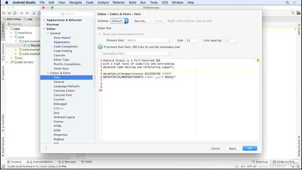 Configure Android Studio: Android Studio Essential Training