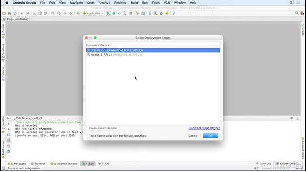 Import Android SDK sample apps: Android Studio Essential Training